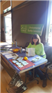 Environmental quality committee booth at Earth Day 2018
