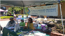 UC Master gardener program booth at Earth Day 2018