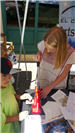 Kids at arts and culture commission booth at Earth Day 2018