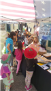 Children at Earth Day Booths 2018