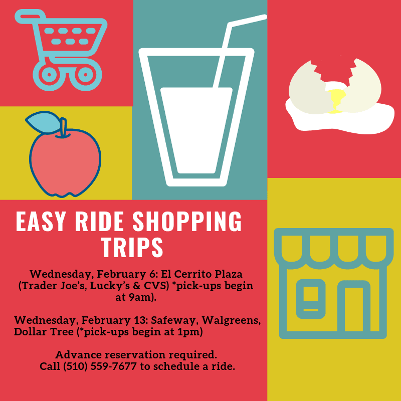 Easy Ride Shopping Trips