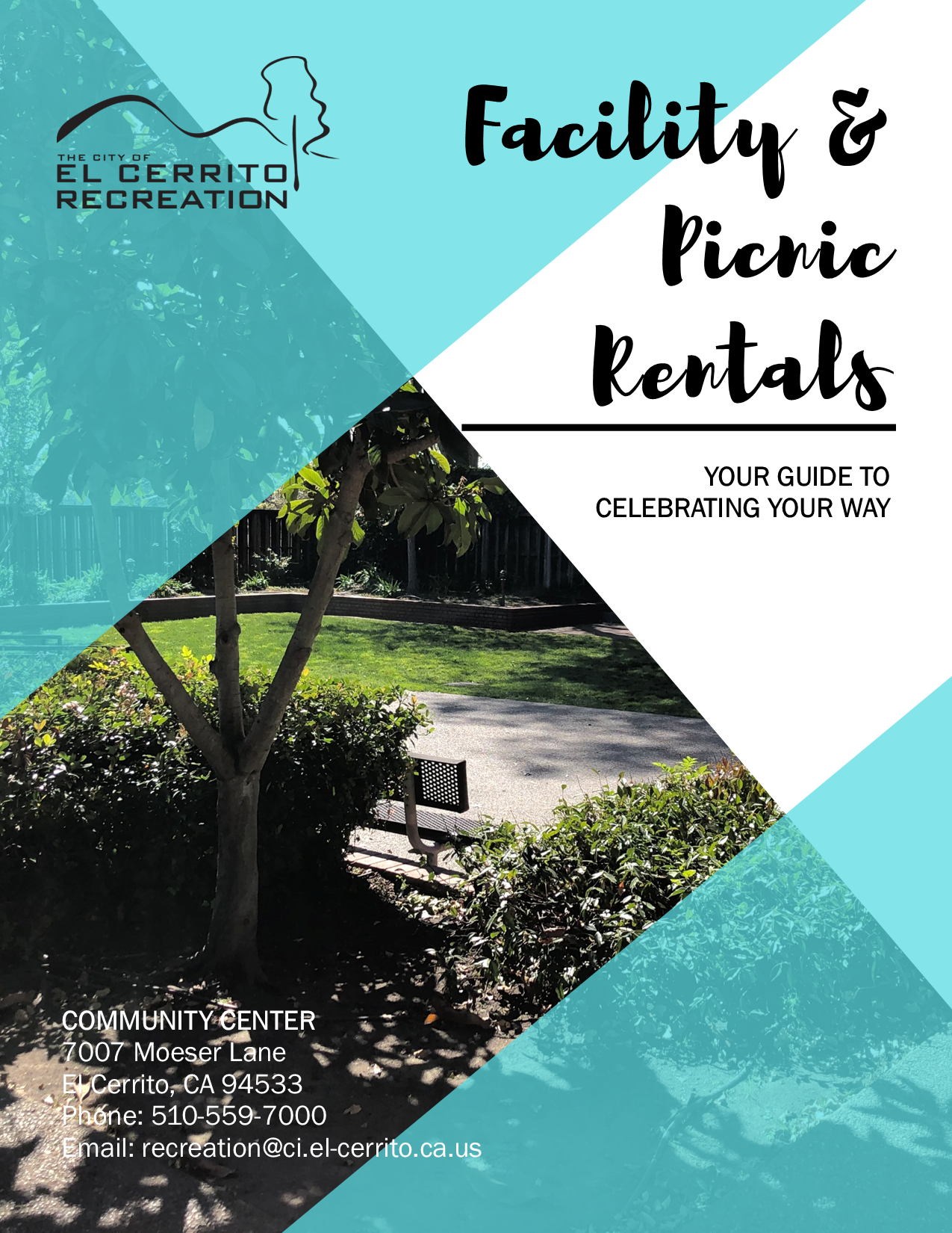 Facility Picnic Rental Brochure