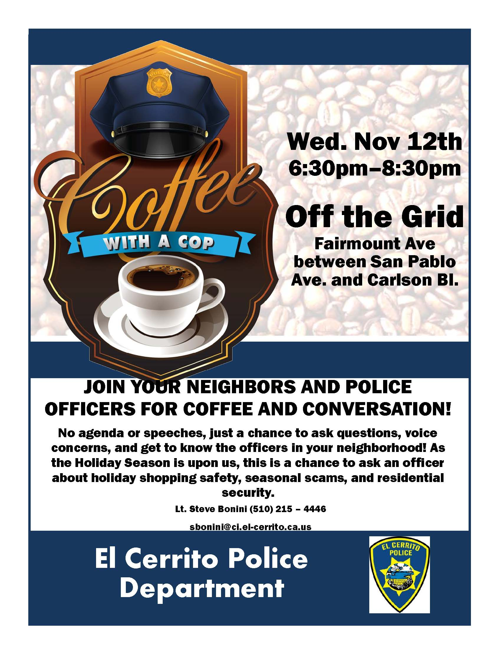 Coffee with Cops Off the Grid Nov 12th.jpg