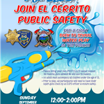Public Safety Water Play flyer