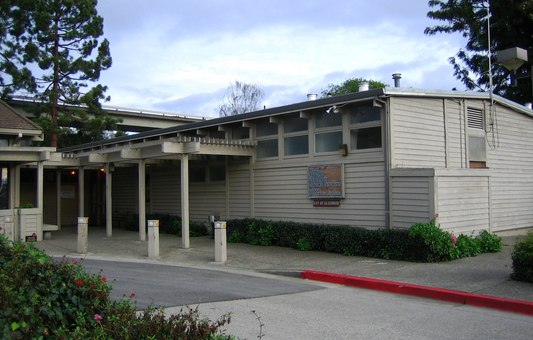 Senior Center building exterior