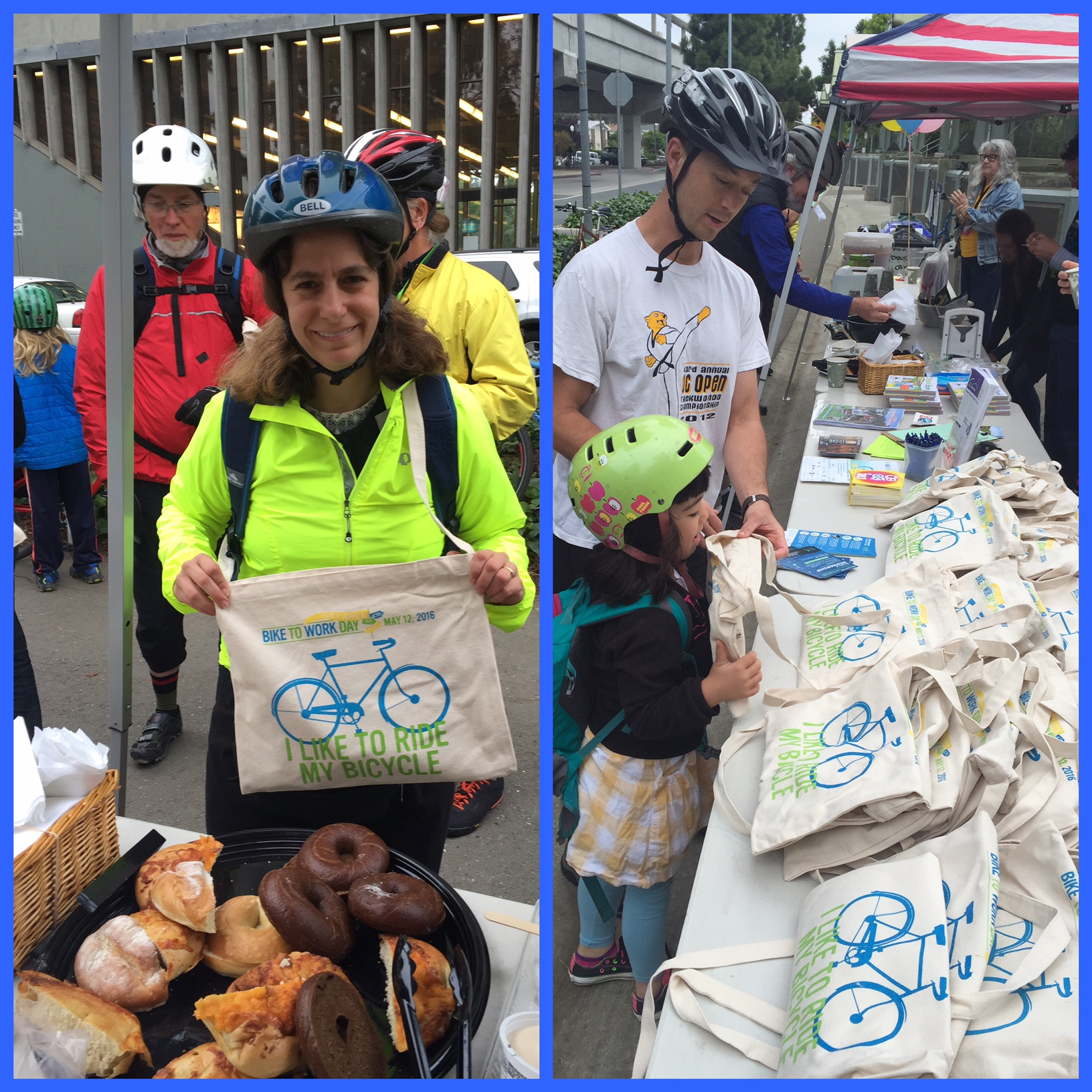 Bike to Work Day El Cerrito 2016 B2WD