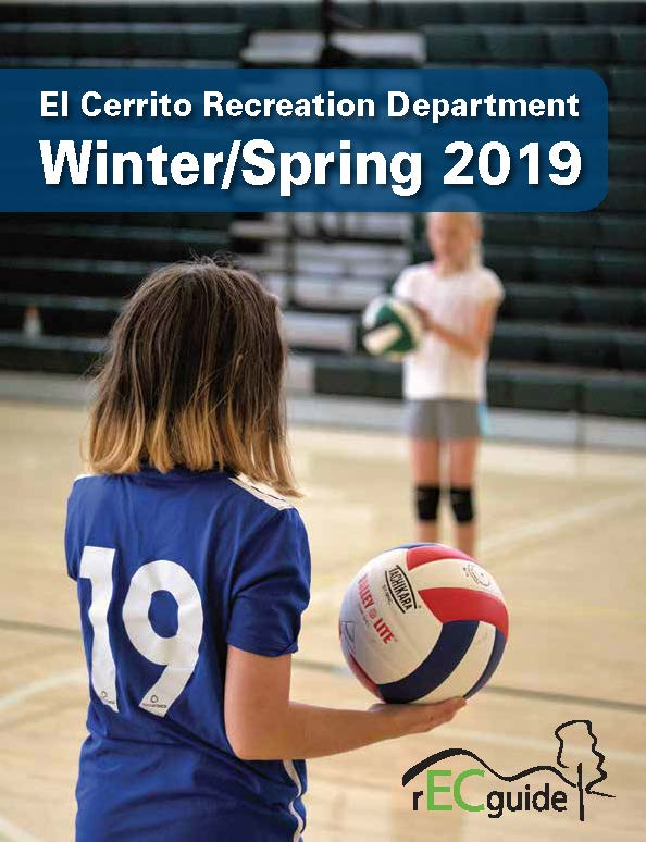 Cover of activity guide for Winter and Spring 2019