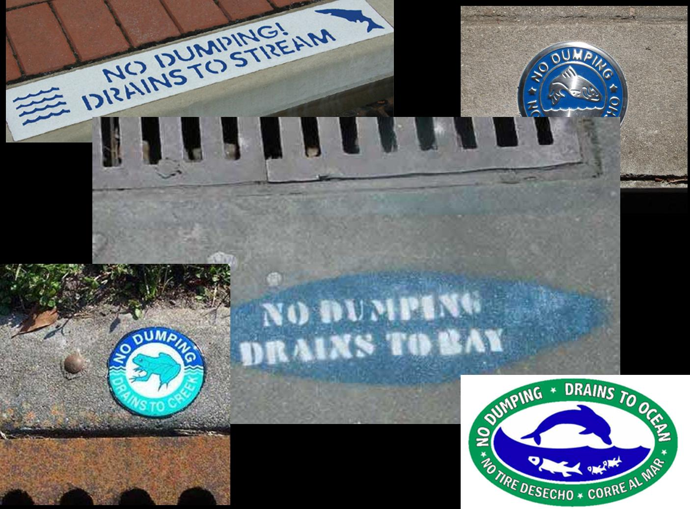 No Dumping Images