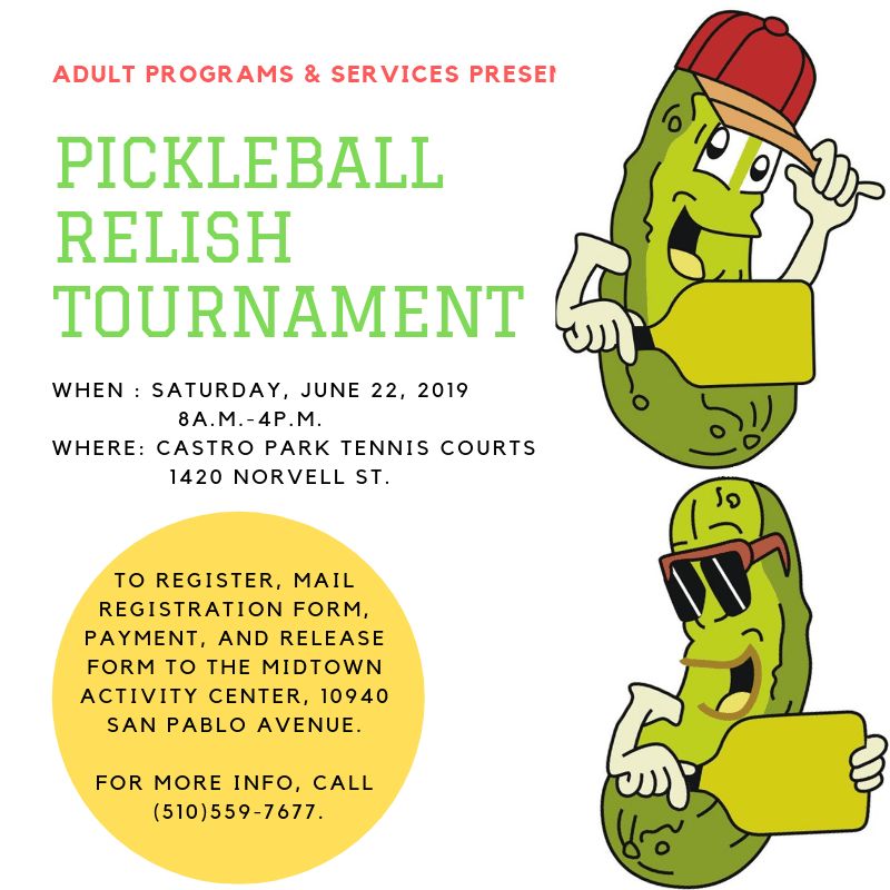 Pickleball Relish Tournament