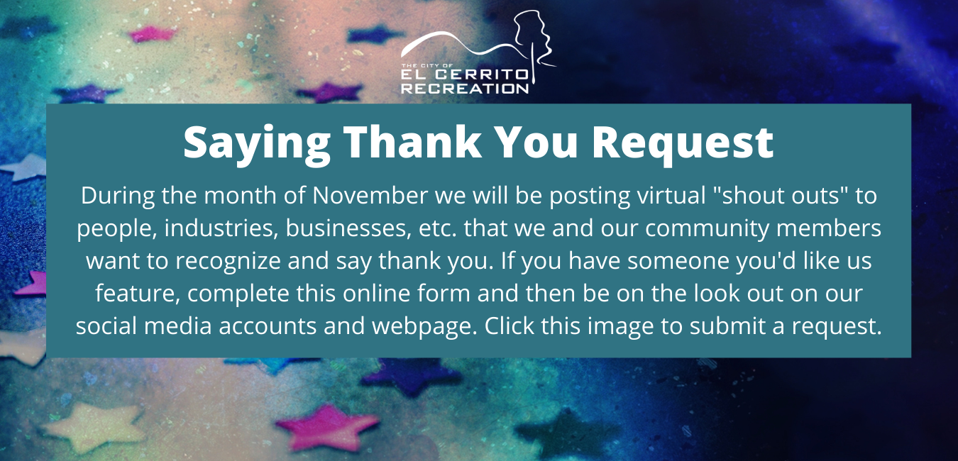 Saying Thank You Request Opens in new window